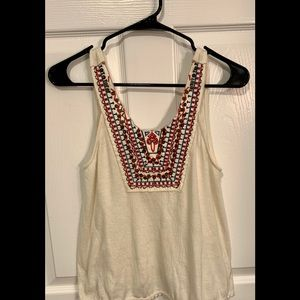 Urban Outfitters Boho Soft-Knit Sleeveless Tank